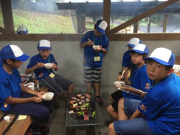 青少年事業BBQ
